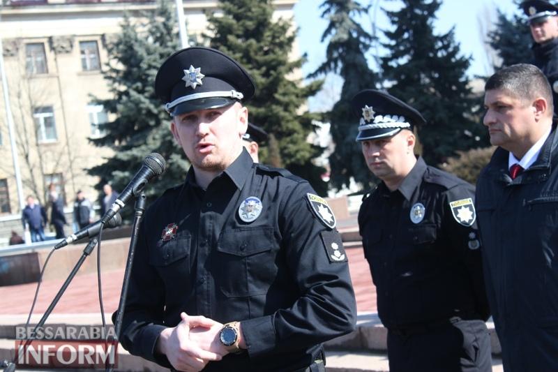 """В Измаиле презентовали патрульную полицию: """"синие маячки"""" уже сегодня начнут ездить по городу"""