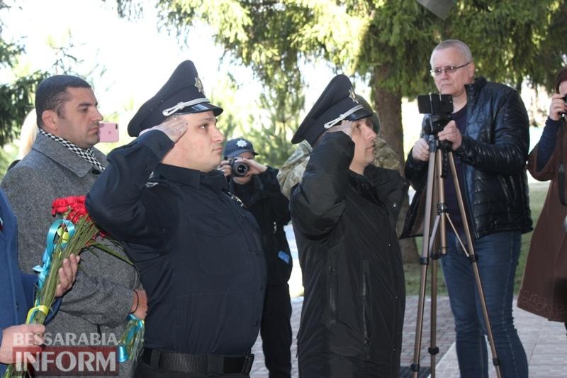 Руководство полиции страны и области почтило память легендарного измаильского пограничника