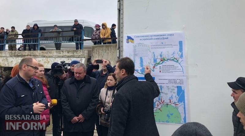 Выездное совещание в Вилково: глава ОГА будет просить у Кабмина 117 млн гривен на ремонт дамб и шлюзов на Дунае