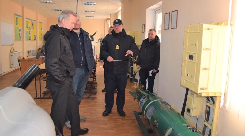 Делегация Посольства США посетила Измаильский учебно-тренировочный отряд морской охраны