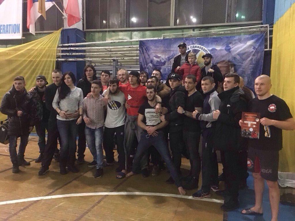 Измаильский пограничник стал золотым призером чемпионата Одесской области по смешанным единоборствам ММА