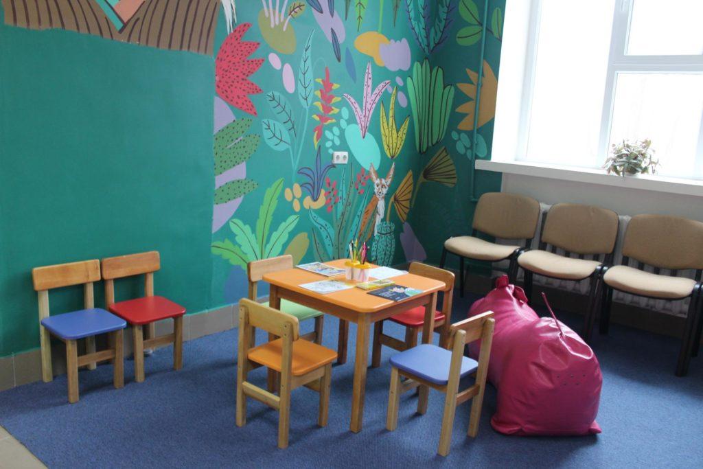 Красочные стены и игровая зона: в Белгород-Днестровском открылось новое поликлиническое отделение