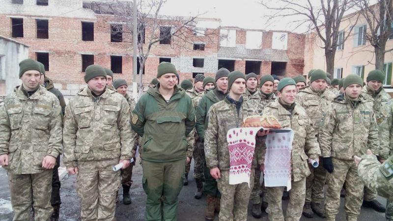В Аккермане с почестями встретили военнослужащих, вернувшихся с войны на Востоке Украины