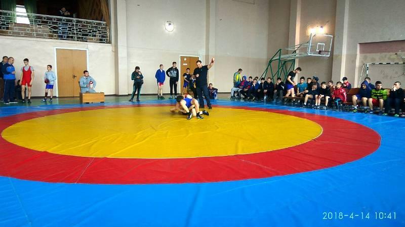 Измаильский район принял у себя Чемпионат Одесской области по вольной борьбе