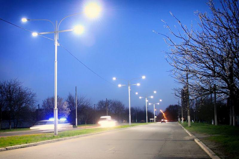 Свет в большом городе: стартовал второй этап строительства новой линии освещения на въезде в Измаил