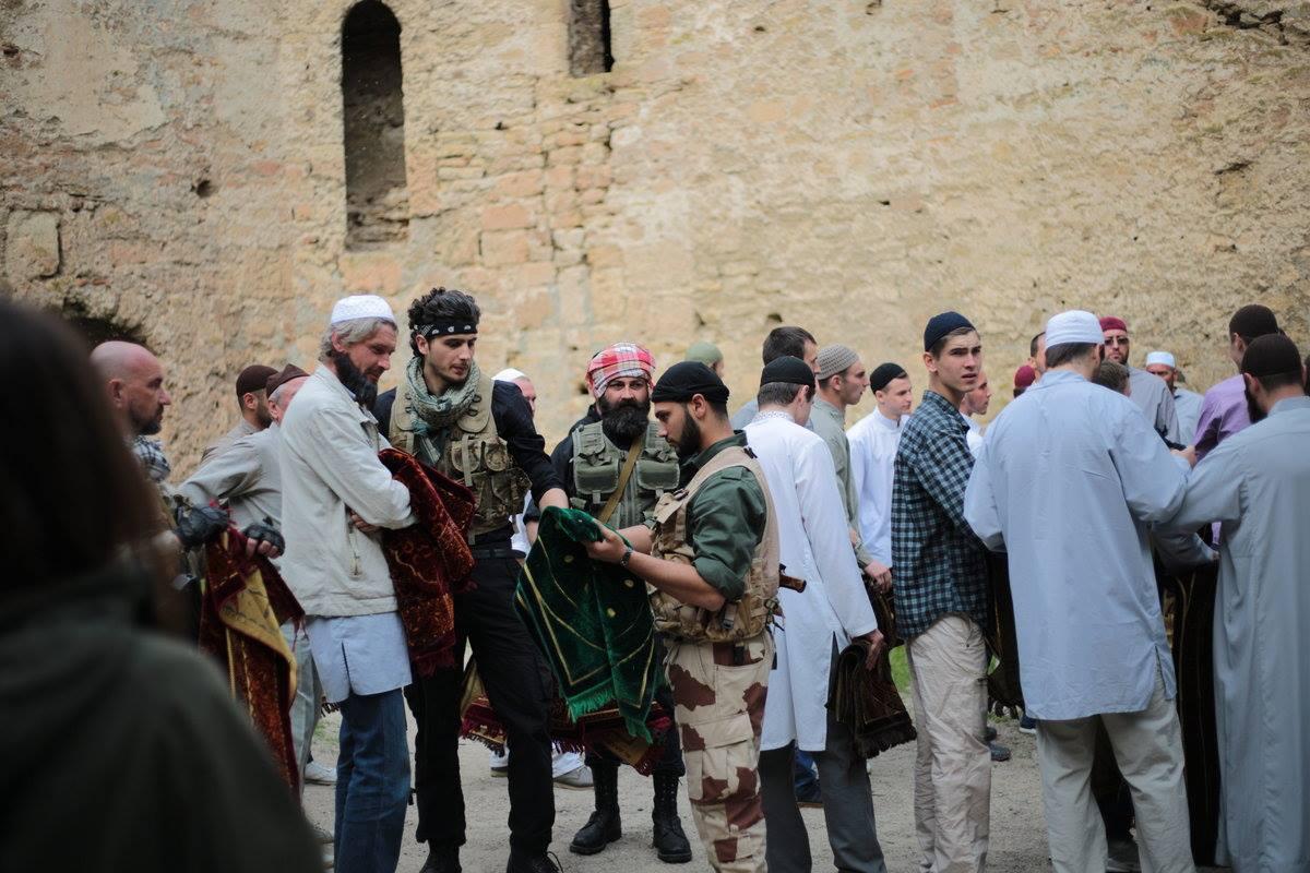 В Аккерманской крепости проходят съемки боевика международного уровня