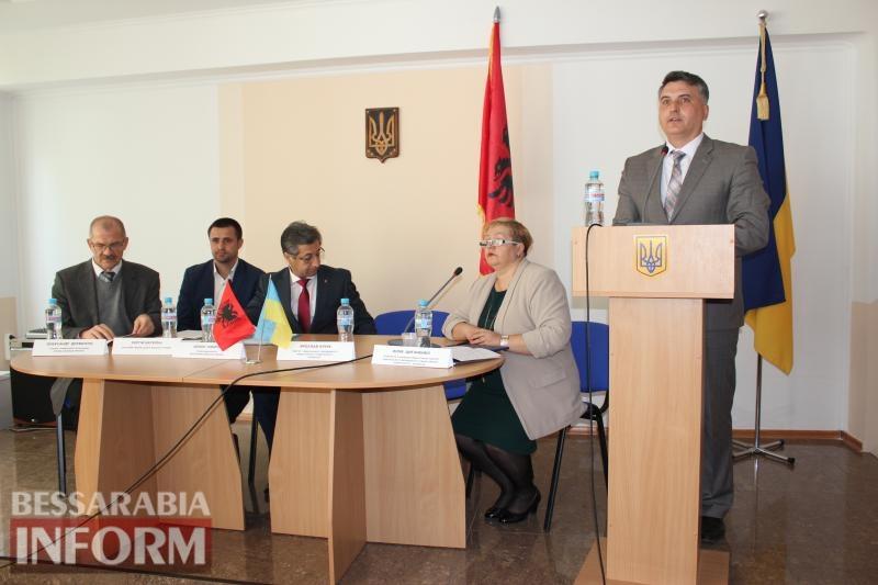 Посол Албании в Измаиле: в ИГГУ состоялась первая в Украине конференция, посвященная албанской диаспоре