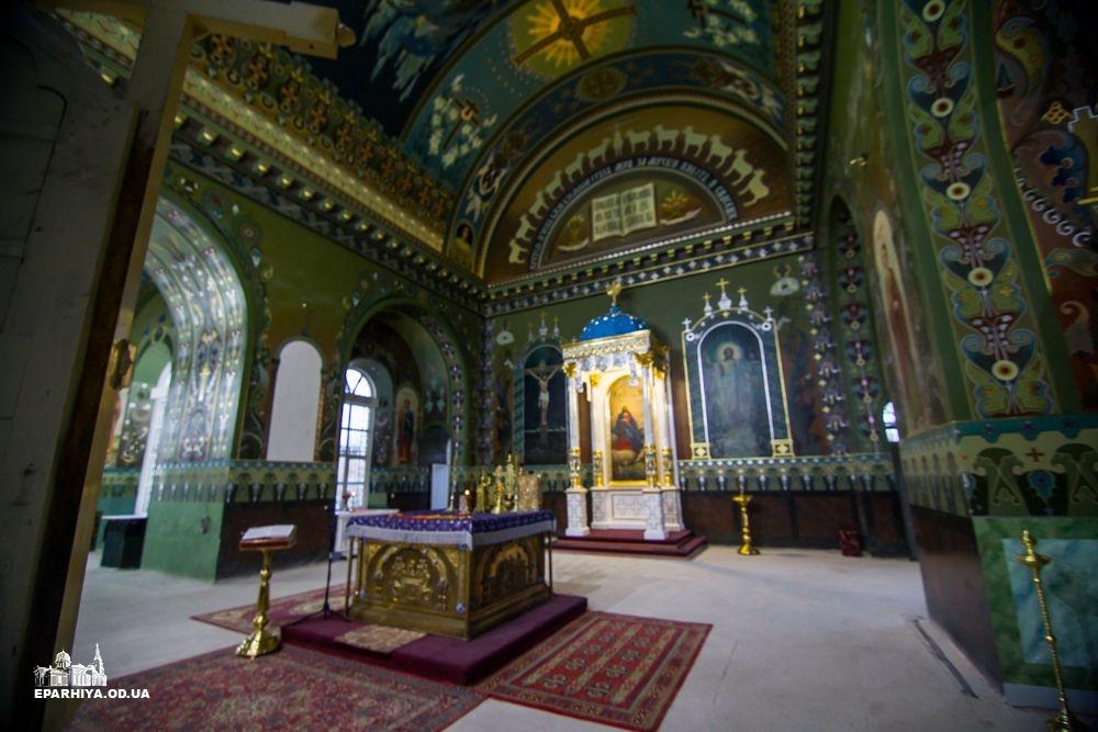 Как выглядит восстановленный после пожара Спасо-Преображенский собор в Болграде