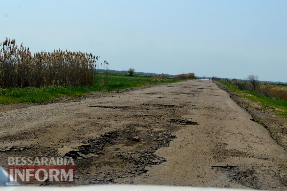 Ужасы дороги Килия-Измаил (фоторепортаж)