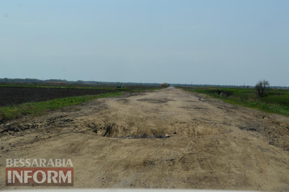 Дорога Килия - Вилково - худшая дорога Украины (фото и видеофакт)