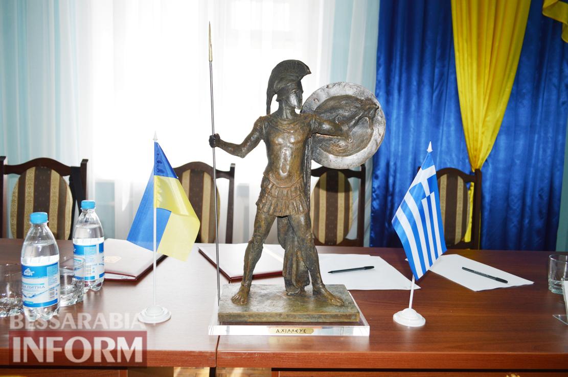 Украинская Килия и греческая Фарсала теперь города-побратимы (фоторепортаж)
