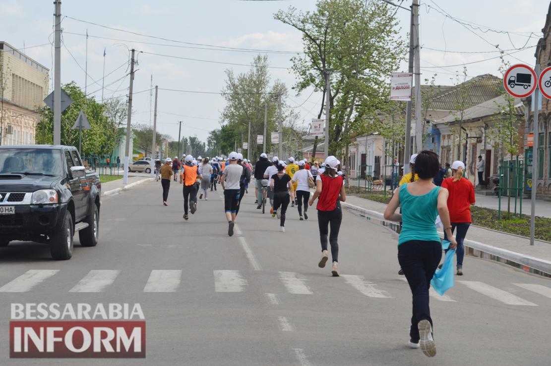 Килийцы пробежали марафон, посвященный дружбе Килии и Фарсалы (фоторепортаж)