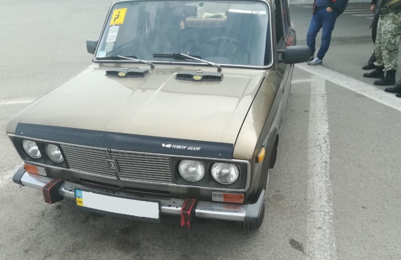 Белгород-Днестровские пограничники нашли при досмотре авто использованный гранатомет