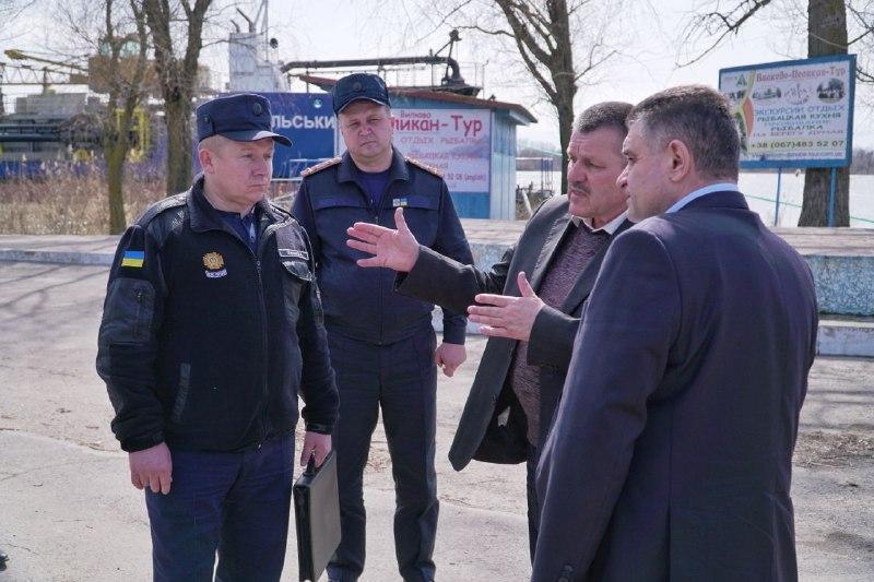 """""""Жилые дома не пострадали"""" - вице-губернатор Терещук провел выездную инспекцию в Вилково"""