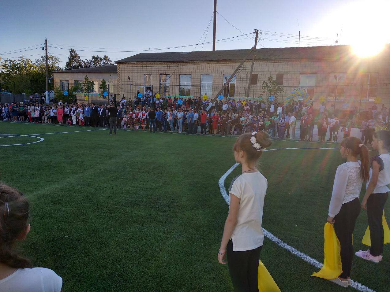В селе Арцизского района открылся современный мини-стадион с искусственным покрытием