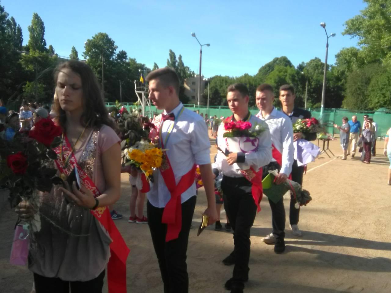 Юные спортсмены Измаила отгуляли выпускной