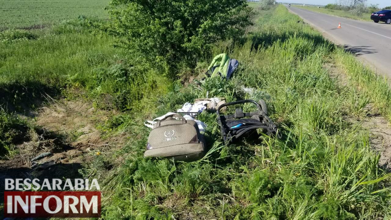 Пожалел собаку и слетел с дороги: на въезде в Килию произошло очередное ДТП (фото)