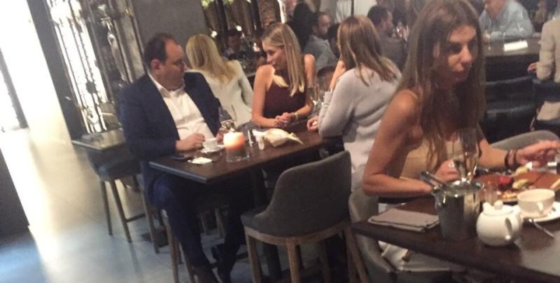 Барвиненко отпраздновал победу над мэром Белгород-Днестровского в дорогом ресторане Киева