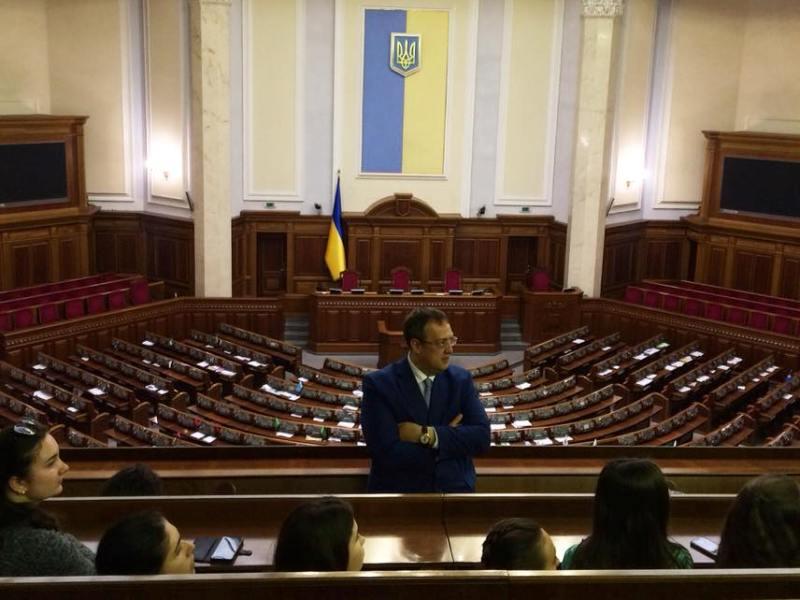 Одаренные дети Бессарабии посетили самые интересные места Киева и встретились с известным политиком
