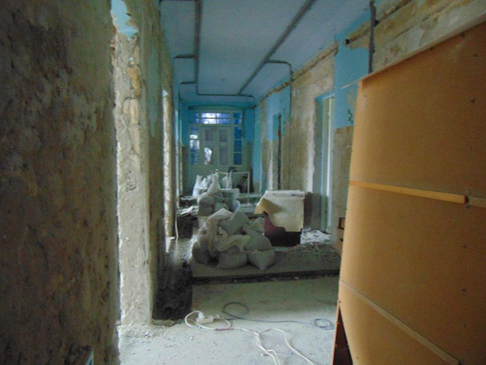 Старт дан: в детском отделении городской больницы Измаила начался долгожданный ремонт