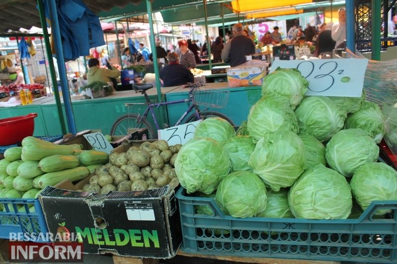 Первая клубника и молодые овощи: обзор цен в Измаиле
