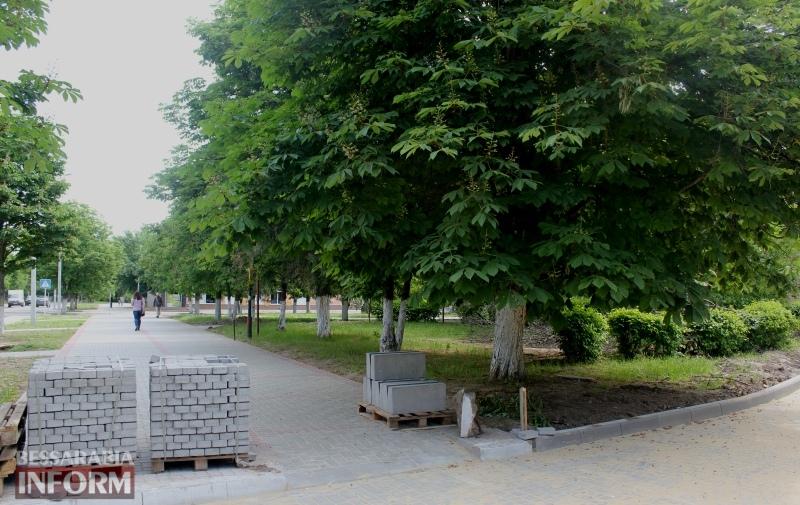 """Сквер №31 - """"Уютный"""": в Измаиле появился новый объект благоустройства"""