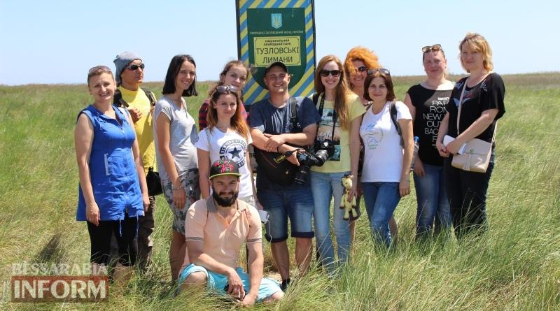 """Блогеры и журналисты в преддверии туристического сезона посетили НП """"Тузловские лиманы"""""""