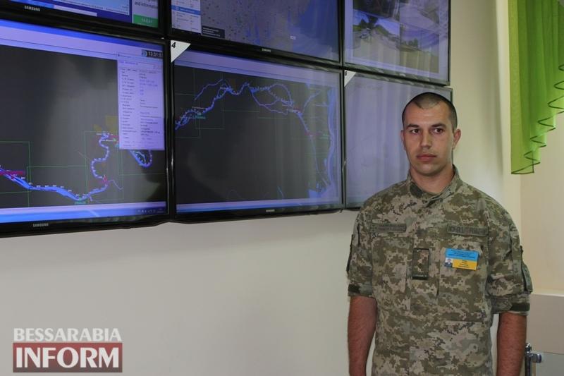 Измаил с рабочим визитом посетил замминистра МВД ВадимТроян