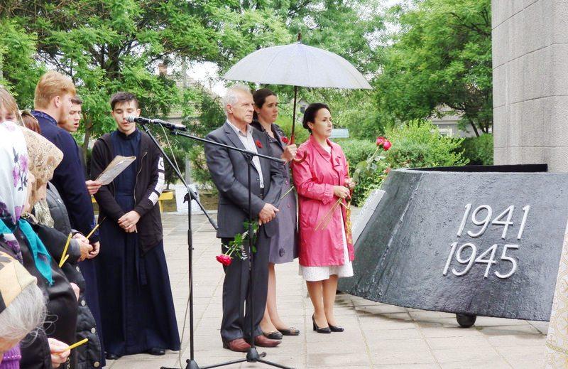 В Килии состоялась районная панахида по погибшим во время Второй мировой войны