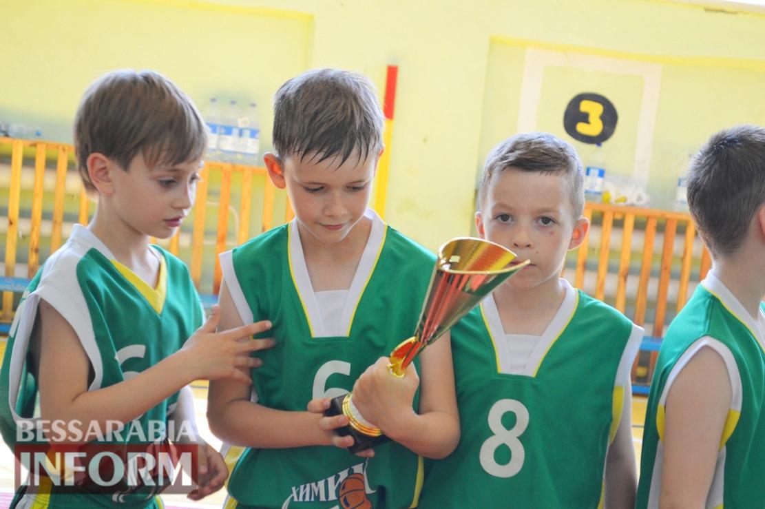 В Килии за кубок Александра Дубового сразились четыре баскетбольные команды