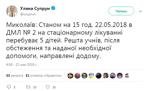 Перед каникулами в четырех украинских школах распылили неизвестное вещество. Что об этом известно