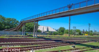 В Измаиле под колесами поезда погибла женщина, личность которой еще не установлена