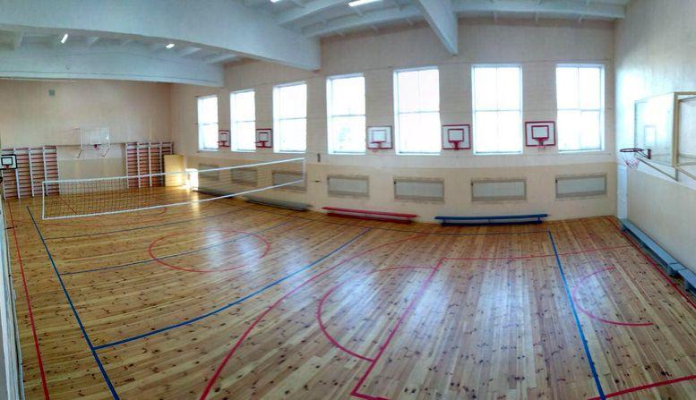 В Арцизском районе в сельской школе построили спорткомплекс городского уровня