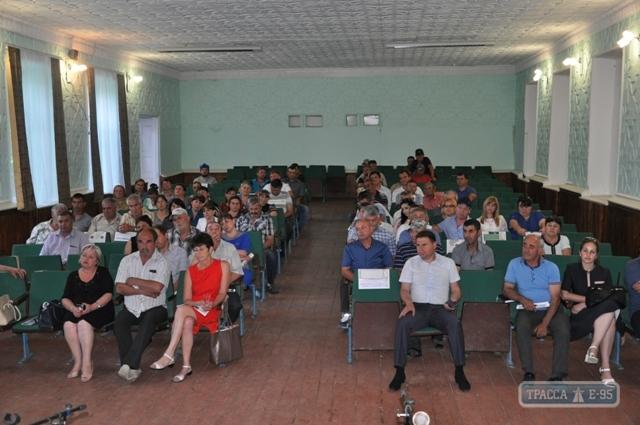 В самом отдаленном селе Болградского района агитировали за создание ОТГ