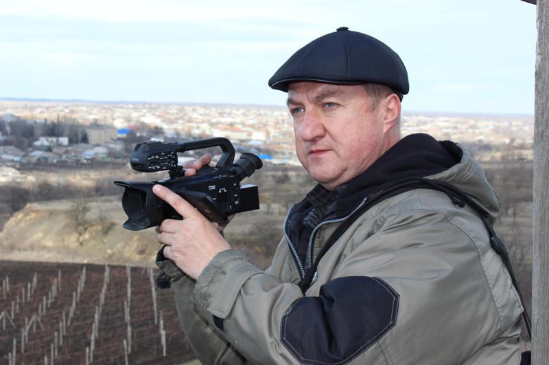 Ко Дню журналиста: «камерные» тайны от измаильского видеооператора Юрия Слободяного