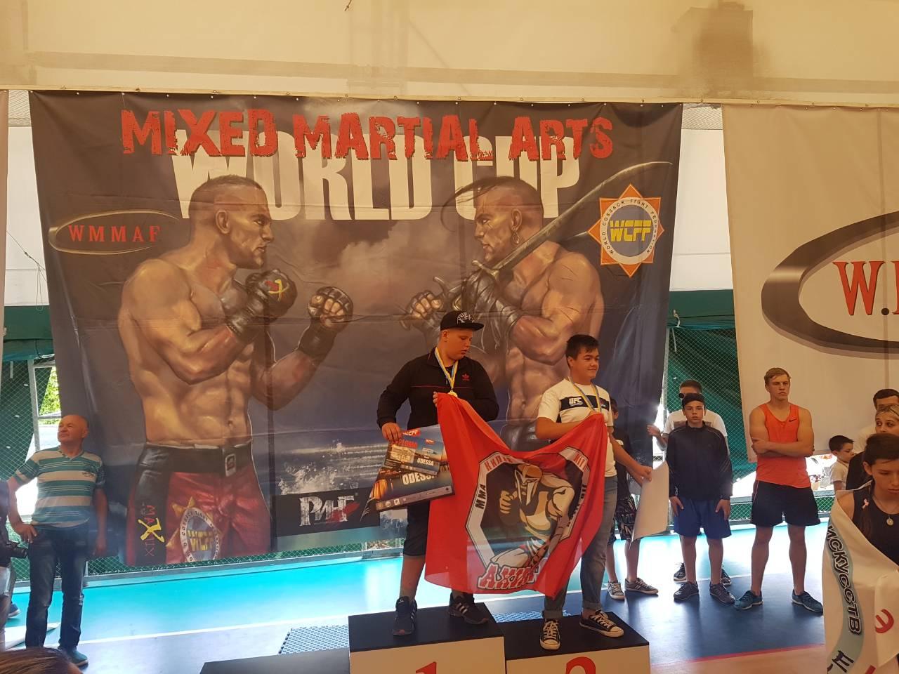 В Килию с чемпионата по боевым искусствам вернулось 9 чемпионов мира