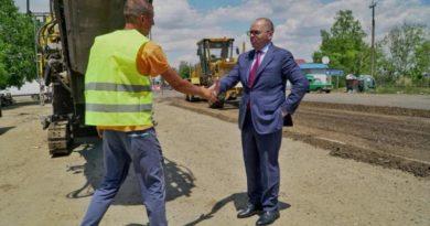 Начат ремонт разбитого участка трассы Одесса-Рени от Паланки до Монаш