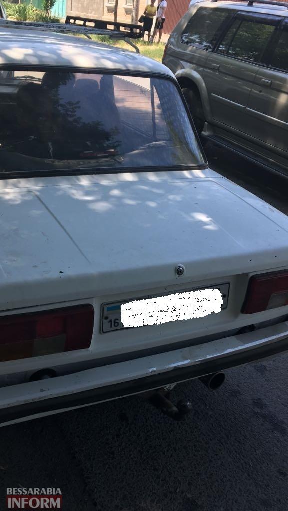 В Измаиле задержали автомобиль, угнанный вчера в одном из районов области