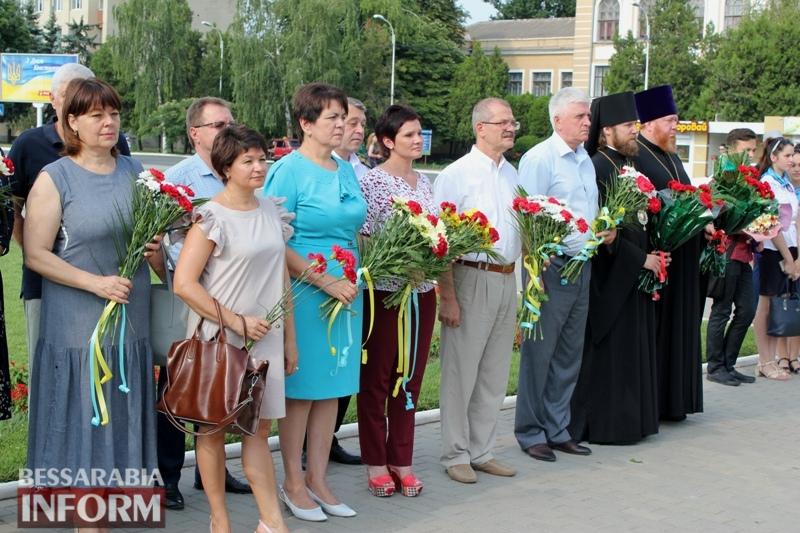 Сегодня День скорби и почитания памяти жертв войны: в Измаиле прошел митинг-реквием