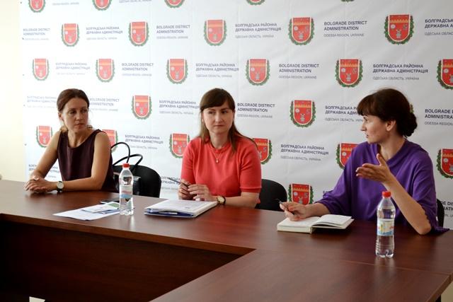 Болградский район посетил представитель Корпуса Мира США в Украине