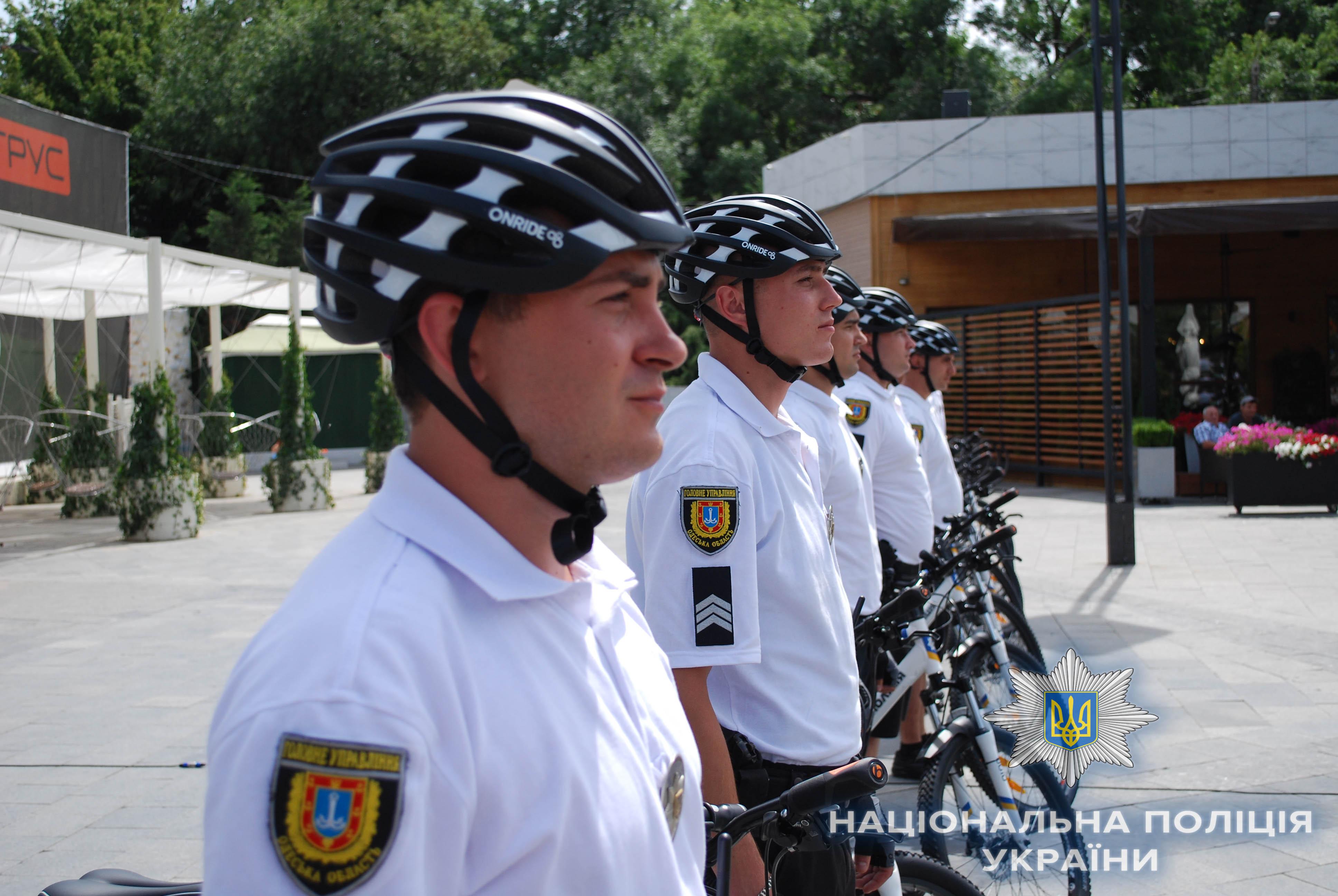 Пляжи Затоки будет инспектировать туристическая полиция на велосипедах
