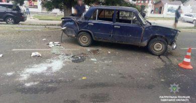 ДТП в Измаиле: на проспекте Суворова при столкновении «копейки» и Chery пострадала женщина
