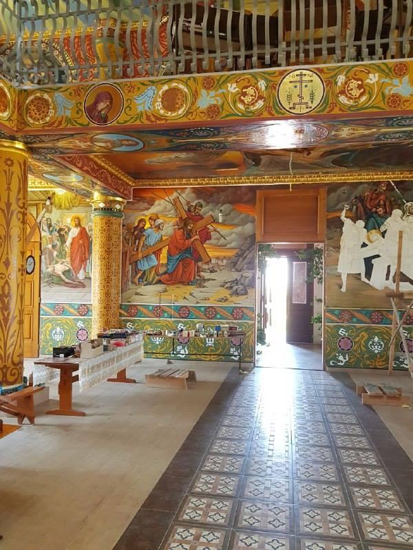 В Болградском районе реставрируют старинный храм: фото внутренней отделки