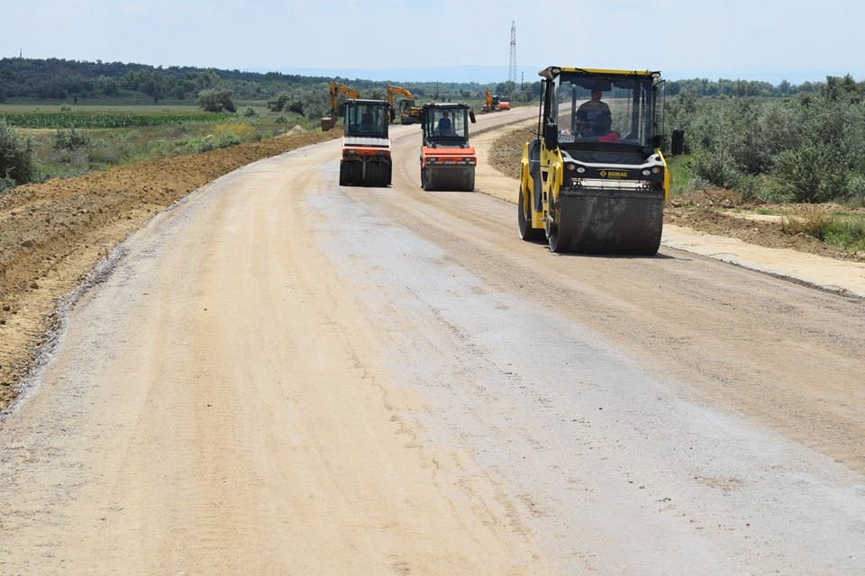 """""""Укравтодор"""" продемонстрировал масштабное строительство объездной дороги вокруг Рени (ФОТО)"""