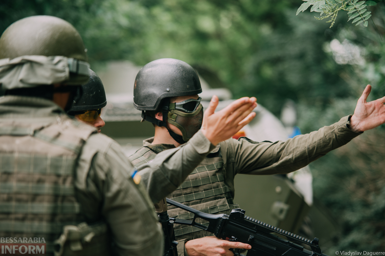 """Тренировки Нагвардии в Измаиле: бойцы провели совместную игру с сообществом """"Страйкбол Бессарабия"""""""