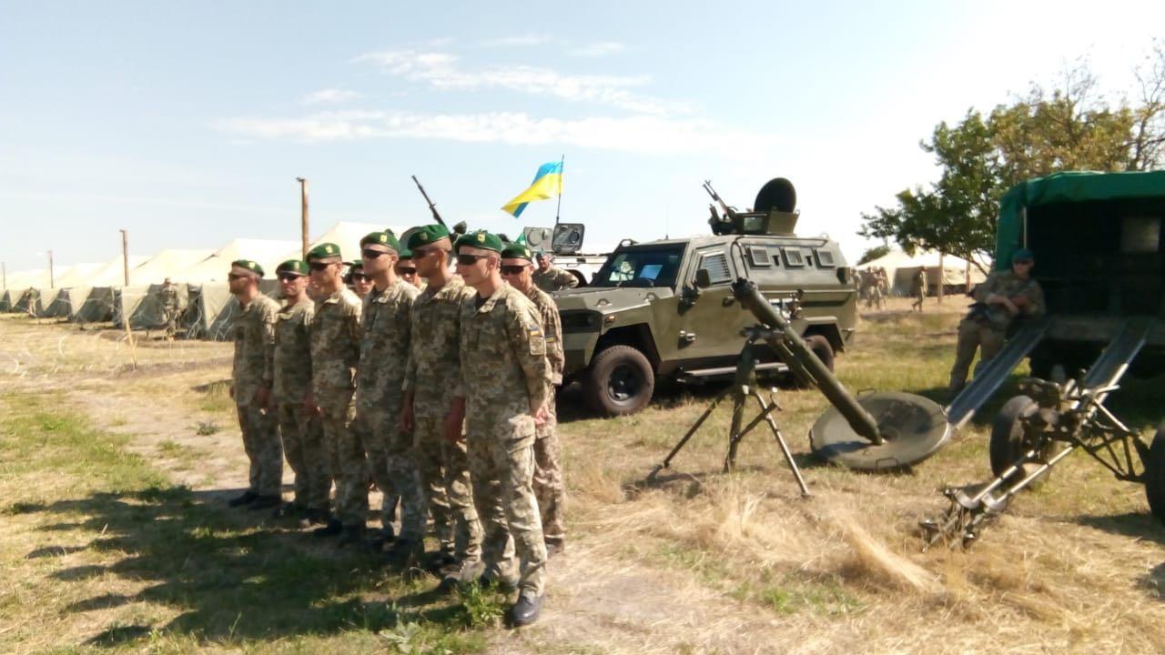 Пограничники Измаильского отряда участвуют в учениях «Си Бриз-2018»