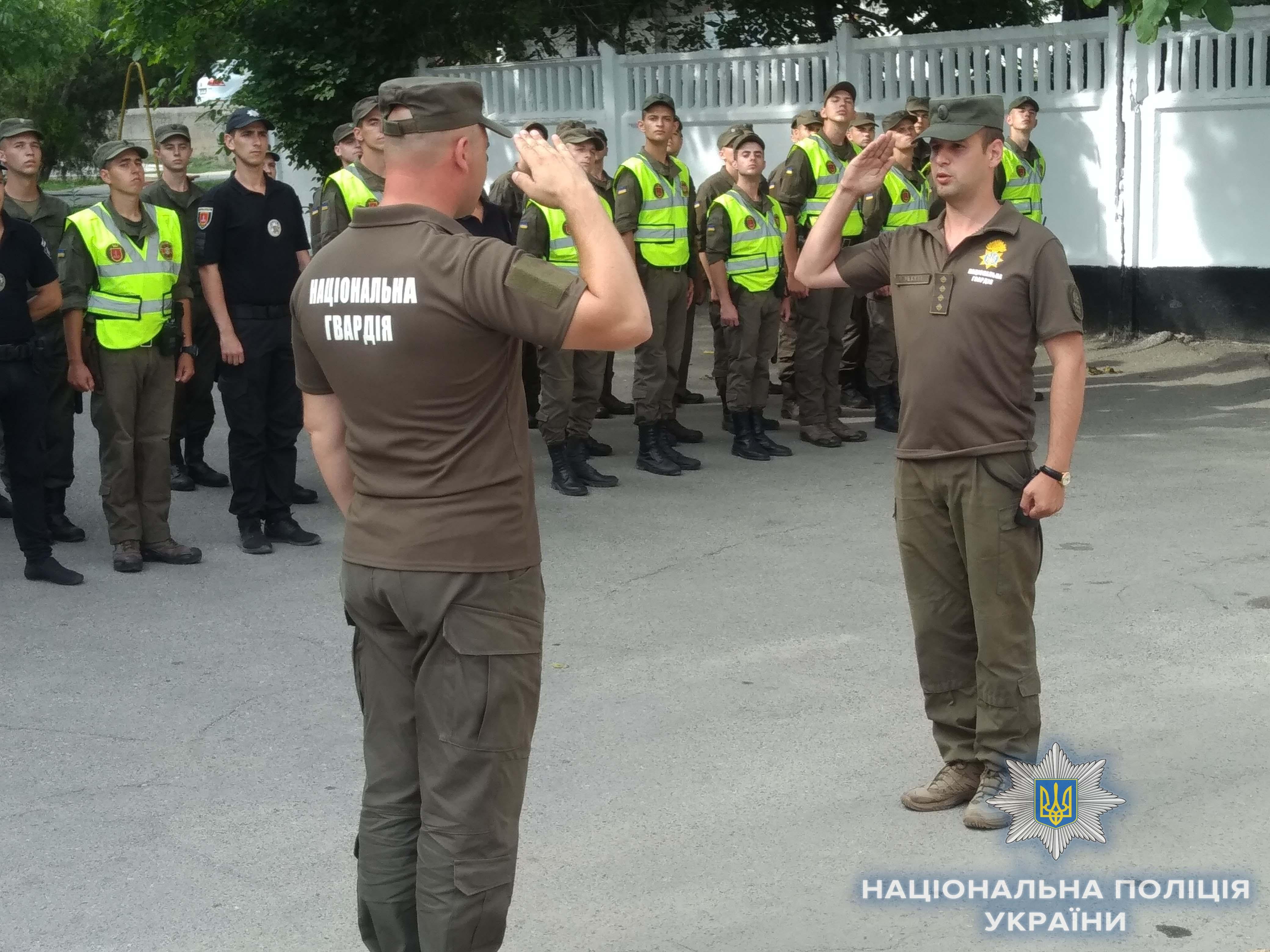В Измаиле полиция борется с преступностью в тандеме с Нацгвардией