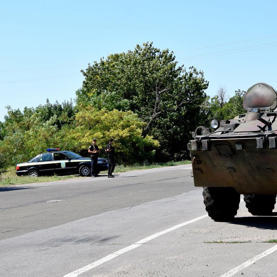 Диверсионная угроза в Одесской области благополучно ликвидирована (ФОТО)
