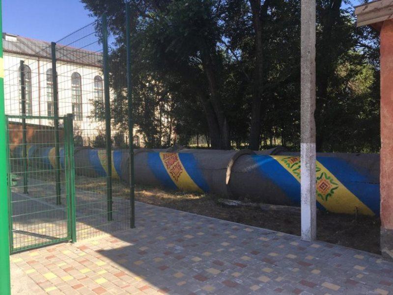 В Арцизе взялись за ремонт школьного тира