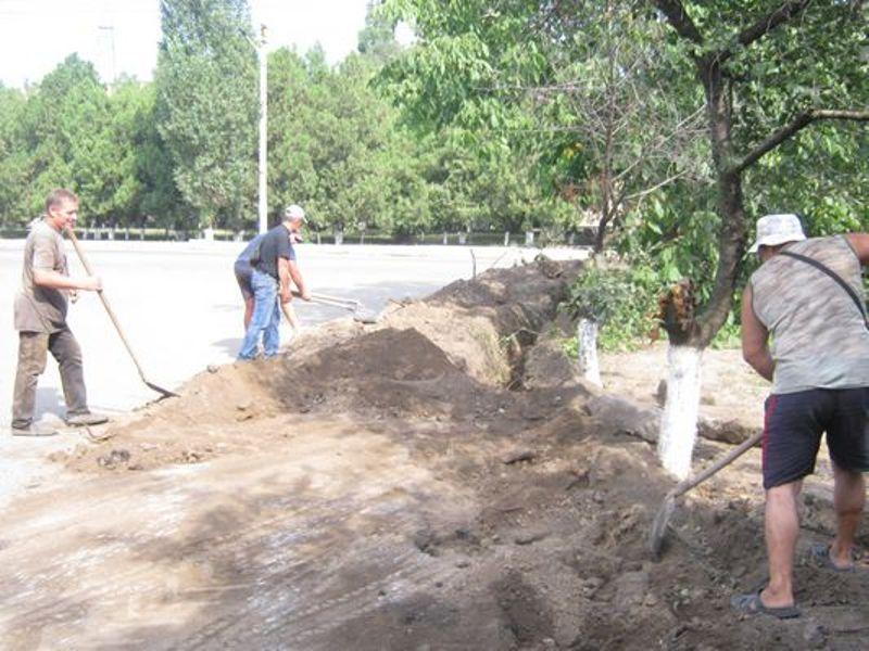 В Арцизе полным ходом идет капремонт водопроводной магистрали